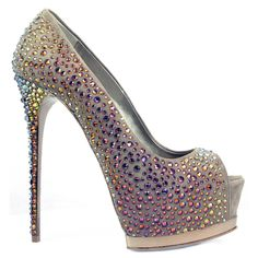 Mercedeh Shoes - Catalogue : Limited Edition > Limited Edition > Pumps : 169 RASO BG STR