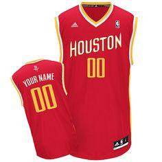 d7ec68dd987f Customized NBA Red Adidas Alternate Women Swingman Houston Rockets Durable  Polyester Jerseys