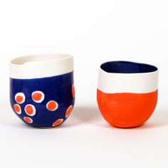 <p>L'Atelier des garçons is a relatively new French brand making these gorgeous ceramic, cartoon-like vessels. 'Les garçons', Jean-Marc Fondimare and Eric Hibelot, are based in a little st