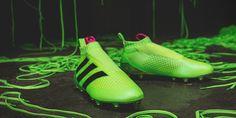 Pure Control Ace 16+ los nuevos zapatos de fútbol sin agujetas de Adidas - FRACTAL estudio + arquitectura