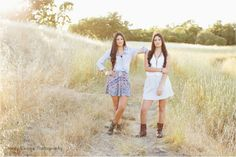 Senior Pictures | Bestfriends | Sisters | twins