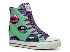wedge sneaker on Wanelo