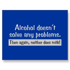 alcohol vs milk