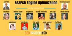 Your #seo insider no. 50 - most important trends in seo [survey]