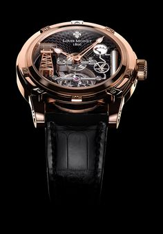 Louis Moinet timepieces, The tourbillon-powered Derrick Gaz combines automaton!