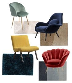 """""""Chair"""" by devanyauliap on Polyvore featuring interior, interiors, interior design, home, home decor, interior decorating, Bashian, Design Within Reach, I Love Living and Fredericia"""
