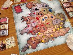 Dark Kingdoms - board game