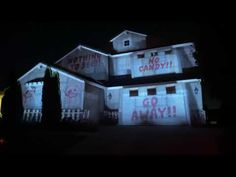 Halloween House Projection 2020 Modern Halloween, Halloween House, Animated Halloween Props, Food Costumes, Projection Mapping, Samhain, Paranormal, Trick Or Treat, Halloween Decorations