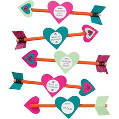 Valentine Pencil Arrows Kit #luvocracy #valentinesday #graphicdesign