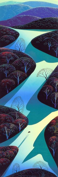 Eyvind Earle (April 1916 – July 2000)