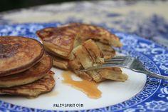 Amazingly tasty Paleo Pancakes: Gluten free, grain free, nut free, soy free, sugar free, dairy free