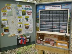 A huge amazing travel bug hotel geocache.  This would take some work to set up, and hopefully would never be muggled.  You can view it at http://coord.info/GC3JQQ1