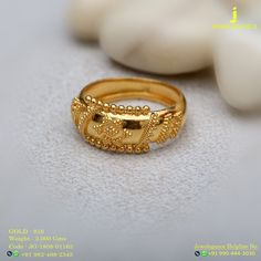 Gold 916 Premium Design Get in touch with us on Gold Ring Designs, Gold Bangles Design, Gold Earrings Designs, Gold Jewellery Design, Or Rouge, Gold Finger Rings, Gold Rings Jewelry, Gold Accessories, Gold Wedding Rings