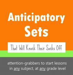 Anticipatory Sets 3
