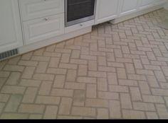 Murstens gulv i forbandt