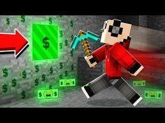 HOW TO MAKE MONEY in MINECRAFT! (Modded Money Wars) Minecraft Videos, Minecraft Mods, How To Make Money, War