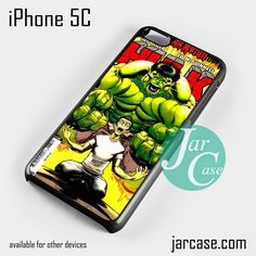 Hulk Marvel Comic Cover 10 Phone case for iPhone 5C and other iPhone devices