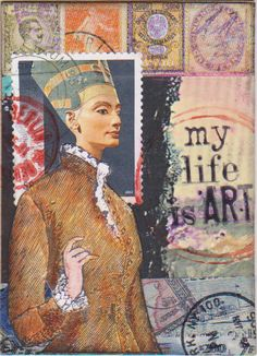 My Life is Art by bockel24 - one of my own ATCs for the swap