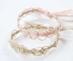 Macrame Elevated : : Bracelet Tutorial