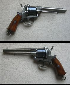 Very nice belgian pinfire revolver 11mm cal.