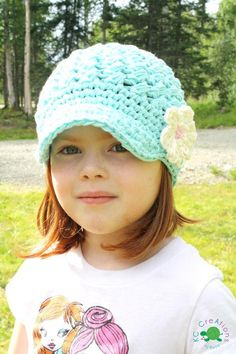Sweet Cheeks Newsboy - via @Craftsy Cute!!!!! Regular yarn for winter and cotton for summer, love it!
