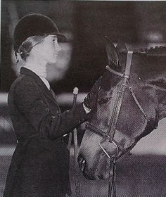 Sandy Ferrell & Centerstage. AHSA Regular Conformation Hunter HOTY in 1999. Photo by Tricia Booker.