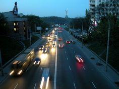 Фотки Киева / город, киев, трафик, дорога, печерск