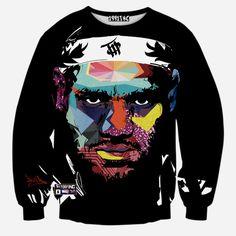 Fashion men/women's 3D sweatshirts America hiphop rock star Biggie Smalls character Tupac 2pac Simpsons print pullover