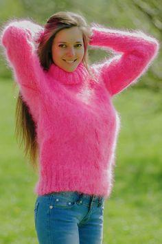 fetish Angora mistress sweater