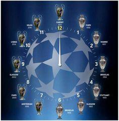 """NUESTRO RELOJ """"HALA MADRID"""" por beral - Champions League - Fotos del Real Madrid, La galeria de fotos más extensa de los aficionados al Real Madrid. Comparte tus fotos del Madrid"""