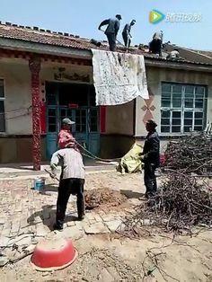 Chinese mortar lift