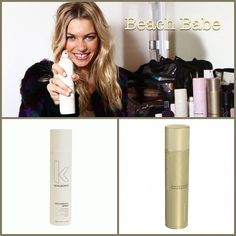@love_kevin_murphy is the guru behind #Model #JessicaHart's Beachy Keen #Hair. To #getthelook use Anti Gravity Spray & finish with Session Spray. #hairtips