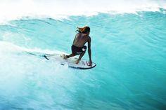 Board + wave look so fun