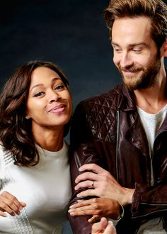 Tom Mison, Nicole Beharie (Sleepy Hollow)