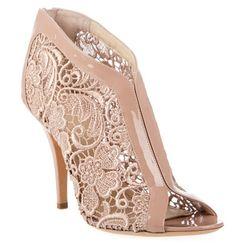 Givenchy floral trim sandals