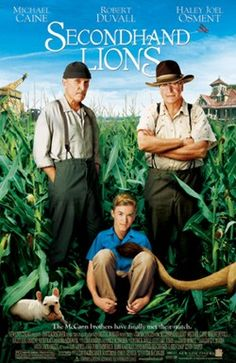Secondhand Lions!!    Awesome move!