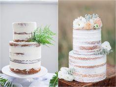O novo Bolo Pelado : Dusted Naked Cake | Blog de Casamento DIY da Maria Fernanda