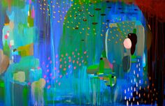 "Elephant Acrylic Painting, 24""x36"" Alice, Elephant, Abstract, Painting, Art, Summary, Art Background, Painting Art, Kunst"