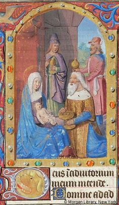 Book of Hours, MS G.4 fol. 58r - Images from Medieval and Renaissance Manuscripts - The Morgan Library & Museum