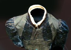 Woman's Blouse Recovered from Titanic.    The crew of the Mackay Bennett recovered a travel trunk from the Titanic's floating debris. In time the trunk found its way the the home of a New Brunswick minister. As oral history relates, this minister knew one of the clergy men on board the Mackay Bennett who was saying prayers over the recovered Titanic victims.