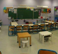 aménagement de classe : classe flexible et espaces dédiés Classroom Management Tips, Special Education, Flexibility, School, Ideas, Classroom Tools, Classroom Management, Classroom, Learning Spaces
