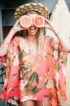 Match your personality to your Summer style - and find out the ideal stylist for you! Summer Of Love, Summer 2015, Summer Time, Spring Summer, Warm Spring, Summer Ideas, Summer Fun, Pink Grapefruit, Foto Pose