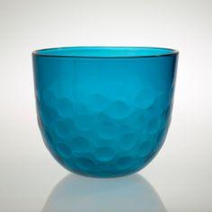 Sven Palmqvist; Glass Bowl for Orrefors, 1960s.