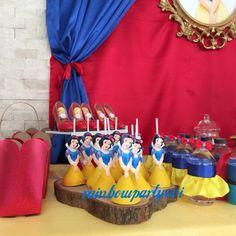 Snow white birthday cake. Pamuk prenses doğum günü pastası. Rainbowpartyevi