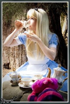 You are Alice...the very best Alice you can be....
