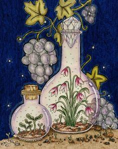Seasons Coloring book Tidevarv 'Hanna Karlzon' by Wendy
