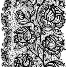 Template frame design for card. Lace Doily. by vikpit74, Royalty free vectors #60617863 on Fotolia.com