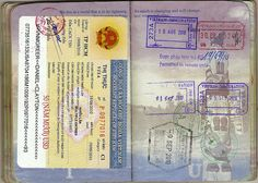 (Previous Page)  My summer 2010 trip to Asia, Vietnamese visa and some Vietnam and Singapore stamps. For some reason, when I left Singapore on 07 Sept, they stamped randomly on this page. :/  (Next Page)     http://evisatovietnam.com/visa-for-vietnam