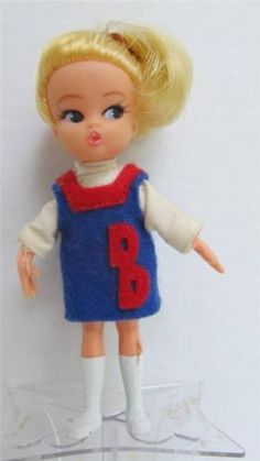 dolly darlings | Hasbro 1967 Dolly Darling Doll Go Team Blue Box Series This is the one ...