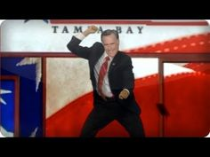 Romney RNC Entrance - Gangnam Style, The Tonight Show With Jay Leno.  This made my day!